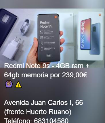 Xiaomi Redmi Note 9s-4GB